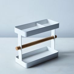 Steel & Wood Kitchen Tool Stand