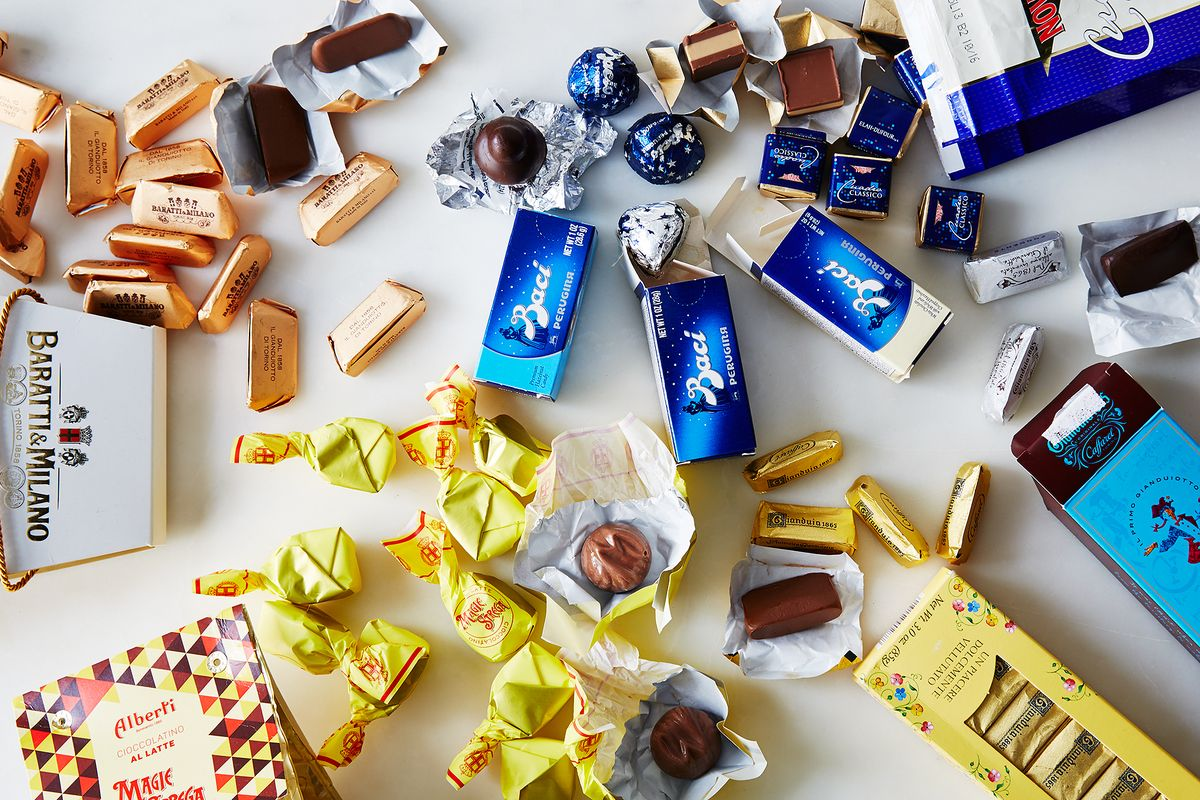 Our Guide To Foil Wrapped Italian Chocolates