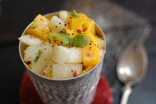 Mango, Melon Salad