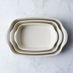 Emile Henry Ceramic Bakers (Set of 3)