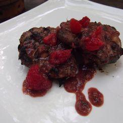 Raspberry Dijon Grilled Chicken