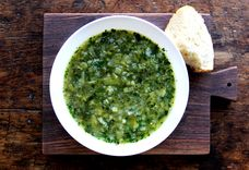 Leek and Spinach Soup