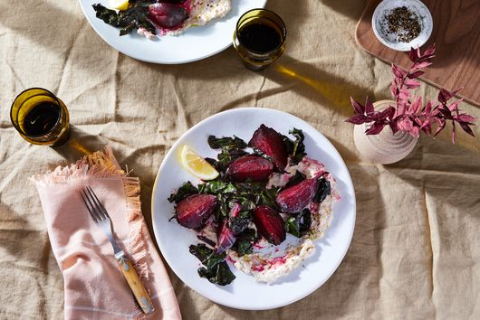 Beets With Smoked Fish Mayo