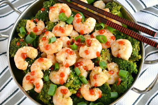 Easy Shrimp & Broccoli Stir Fry