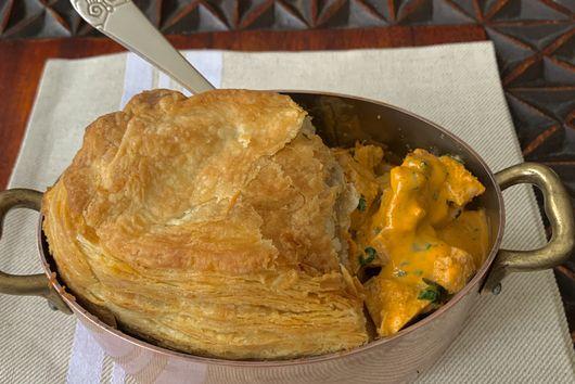 Butter Chicken Pot Pie