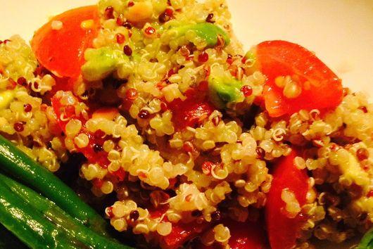 Quinoa & Pine Nut Salad
