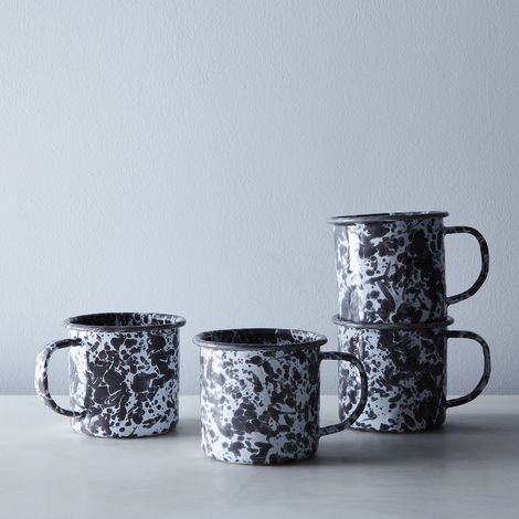 Enamel Mugs (Set of 4)