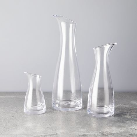 Simon Pearce Handblown Glass Barre Carafe