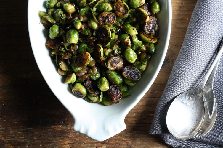 10 brussels sprouts recipes for your holiday table for Table 52 recipes
