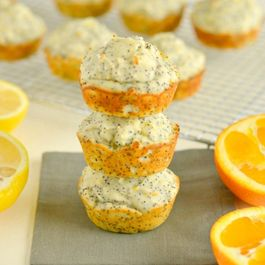 Lemon Orange Poppyseed Muffins