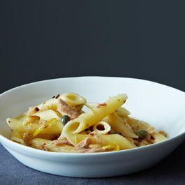Zuni's Pasta with Preserved Tuna