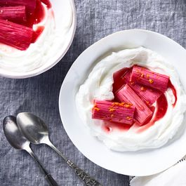 The Sweetest Way to Eat Rhubarb Doesn't Involve a Ton of Sugar