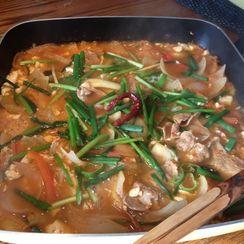 Pork Kimchi Chili