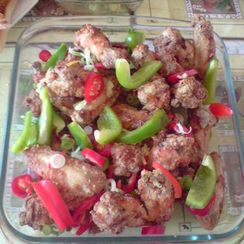 Baked Salt and Pepper Wings