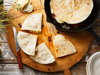 The Pear & Bacon Quesadilla You'll Find at the End of Oregon's Most Scenic Drive