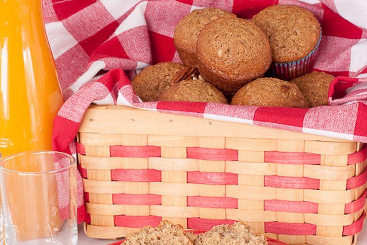 Pecan Sticky Bun Muffins