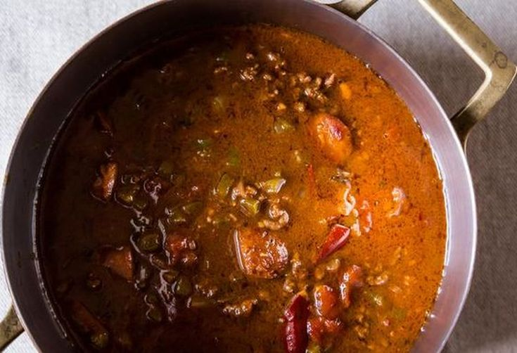 A Spicy, Boozy New Orleans Party Menu
