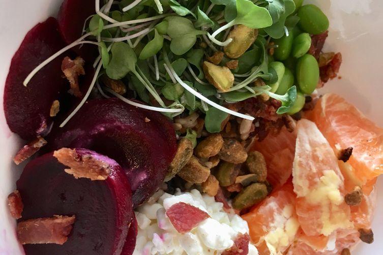 Orange and Beet Grain Salad