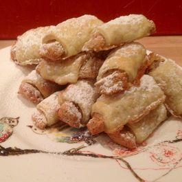 Rose's Walnut Meringue Filled Cream Cheese Cookies