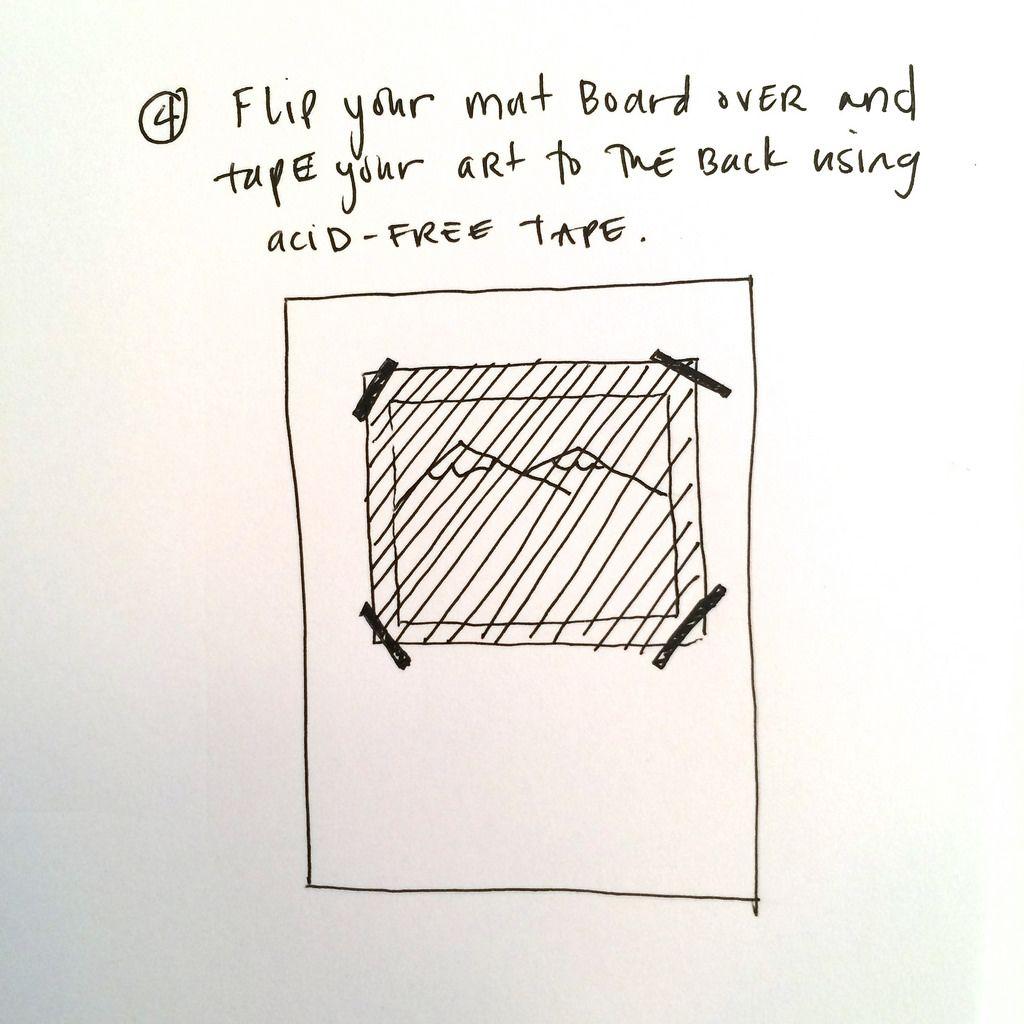 How to Cut a Mat Board Part 4