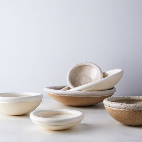 Handmade Coil Serving Bowls