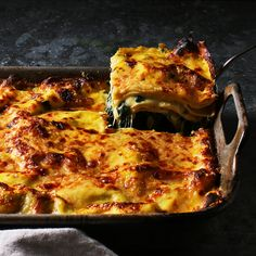A Creamy Lasagna with a Surprising Boost of Flavor