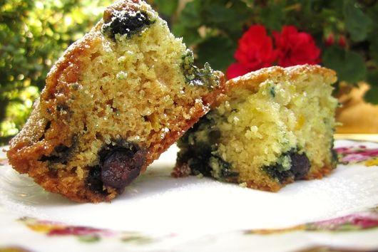 Zesty Blueberry Lavender Cake