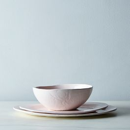 Food52 Glossy Pink Porcelain Serveware, by Looks Like White