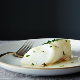 Baked Fish with Butter and Sherry by Ann Godfrey
