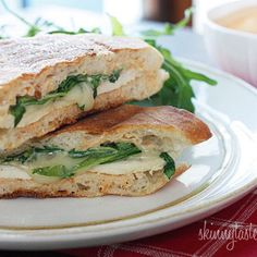 Lemon Herb Chicken Panini