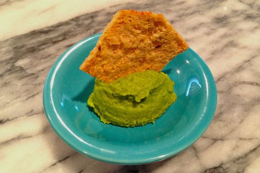 Green Pea Lemon Hummus