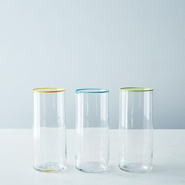 Handblown Tall Glass Tumbler