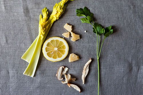 Italian Celery and Mushroom Salad