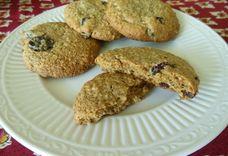 Chewy Oatmeal Berry Breakfast Cookies