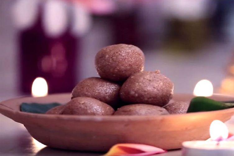 Ganpati Special: Sesame Peanut Ladoo