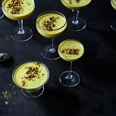 Alice's Golden Panna Cotta
