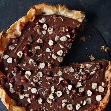 Ferrero Rocher-Style Pie