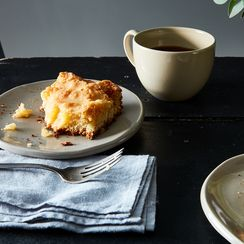 A Gooey Butter Cake that Needs No Adornment Nor Occasion