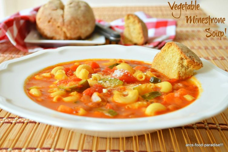 Vegetable Minestrone Soup!
