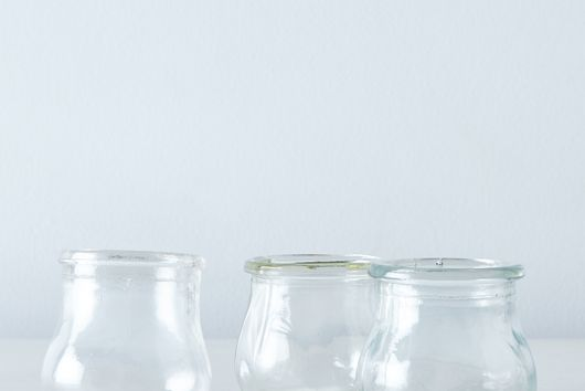 Vintage French Bell-Shaped Glass Jars