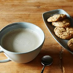 A Vegan Nut Milk Latte for Coffee Fanatics