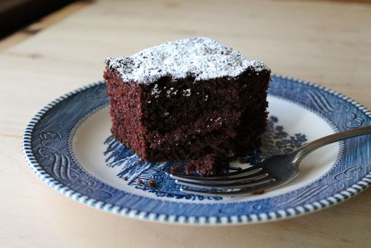 "Vegan Chocolate Cake (""Chocolate Happy Cake"")"