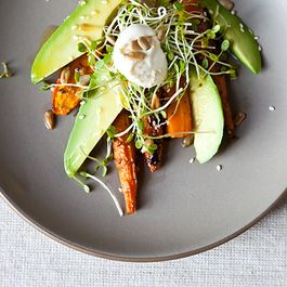 Carrot Avocado Salad