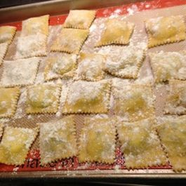 2507db3c 38ab 40d4 afbf 7cae1b9d5fe8  homemade ravioli with ricotta cheese and spinach filling