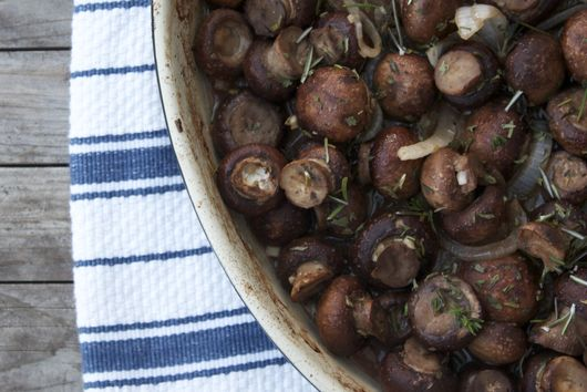 Roasted Mushrooms, Truffled and Herbed