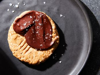 A Perfect Peanut Butter Chocolate Cookie for One, No Oven Required