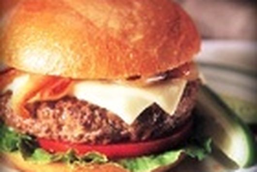 Juicy Bacon Cheese Burgers with Special Sauce