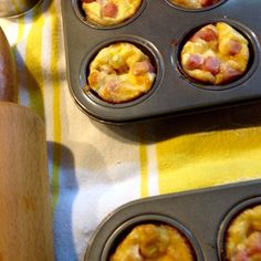 Ham and Gruyere bites