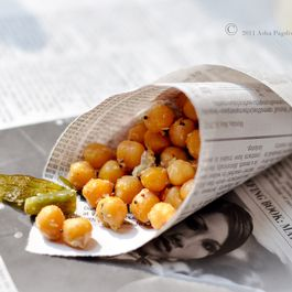 South Indian Sundal (Chickpea salad)