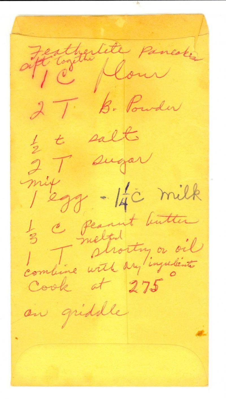 "Rosa Parks' ""Featherlite"" Peanut Butter Pancakes - Houston Chro..."
